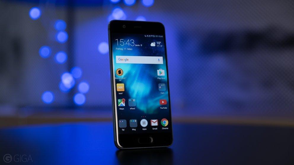 Huawei P10 mit Blau-Allnet-XL-Vertrag für monatlich 25 € – 4 GB LTE, Allnet- & SMS-Flat