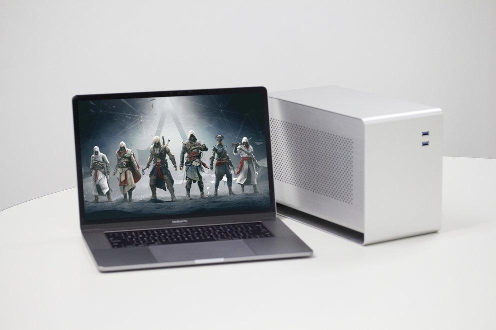 Mantiz Venus: Das perfekte eGPU-Case für das MacBook Pro?