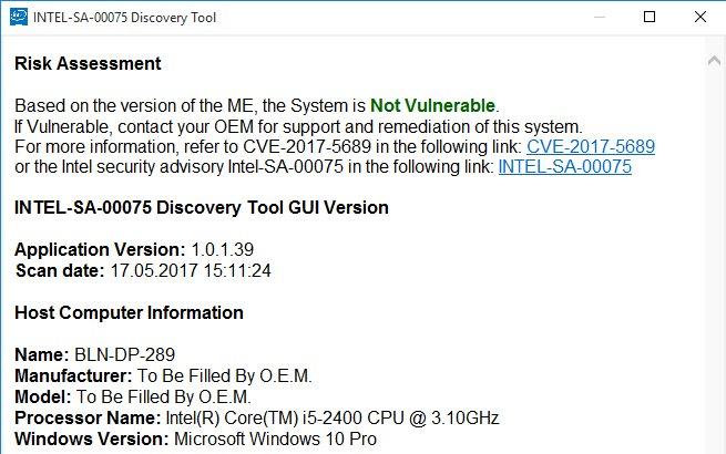 Intel-SA-00075-Discovery-Tool