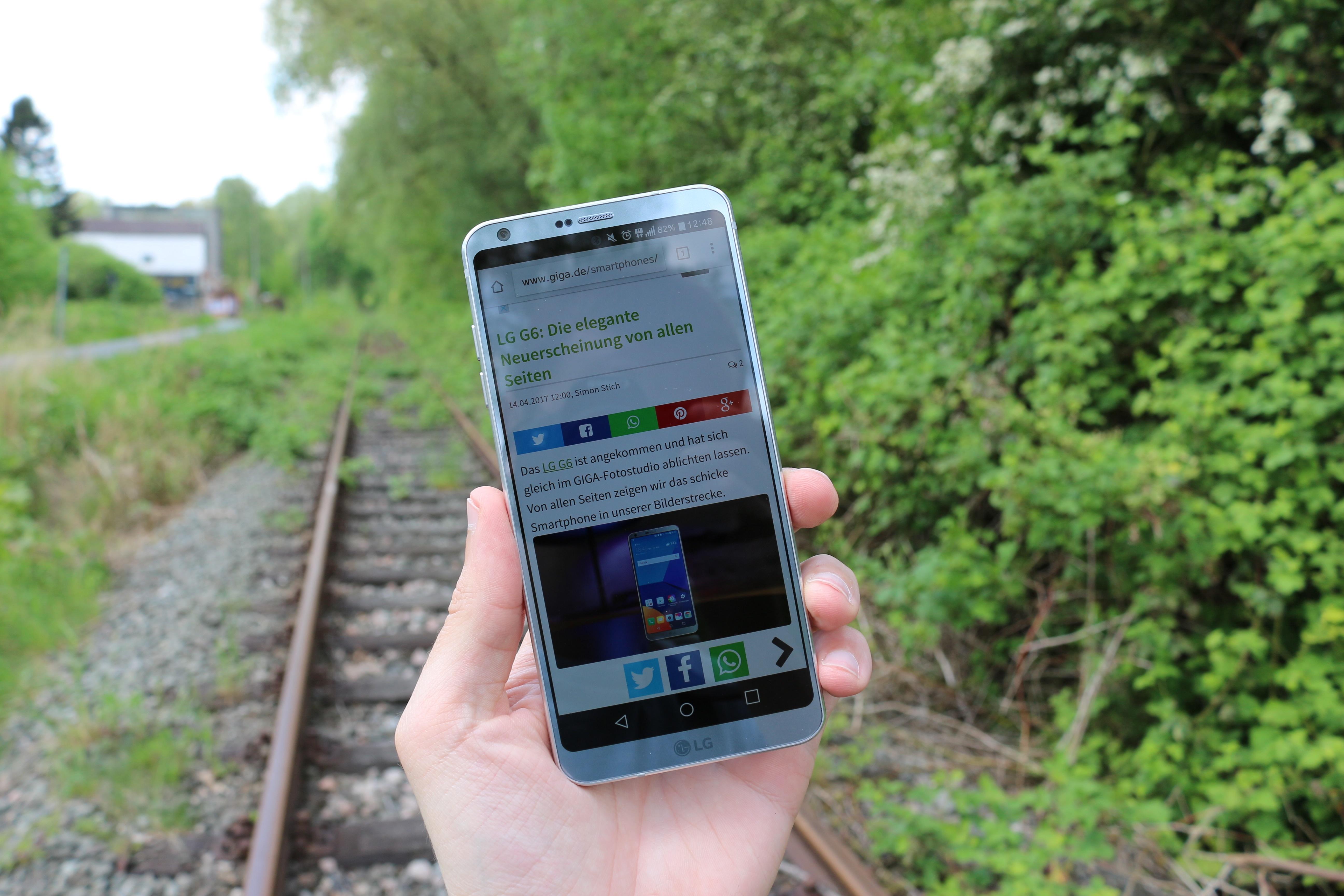 zwei Flaggschiff Smartphones zur gleichen Zeit mit einem neuen Seitenverhältnis auf den Markt kommen So geschehen mit dem LG G6 und Samsung Galaxy S8