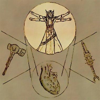Der Vitruvianische Mensch - in Morrowind.