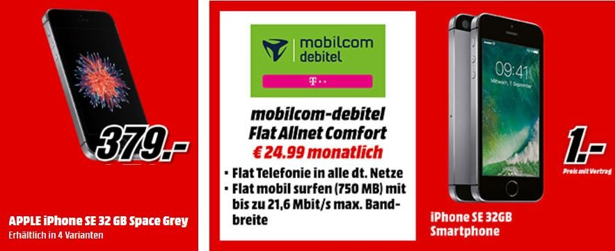 MediaMarkt-Prospekt-Apple-iPhone-SE-32-GB