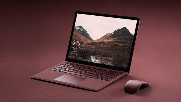 Surface Laptop mit Alcantara-Tastatur, vier Farben und weiteren Highlights geleakt
