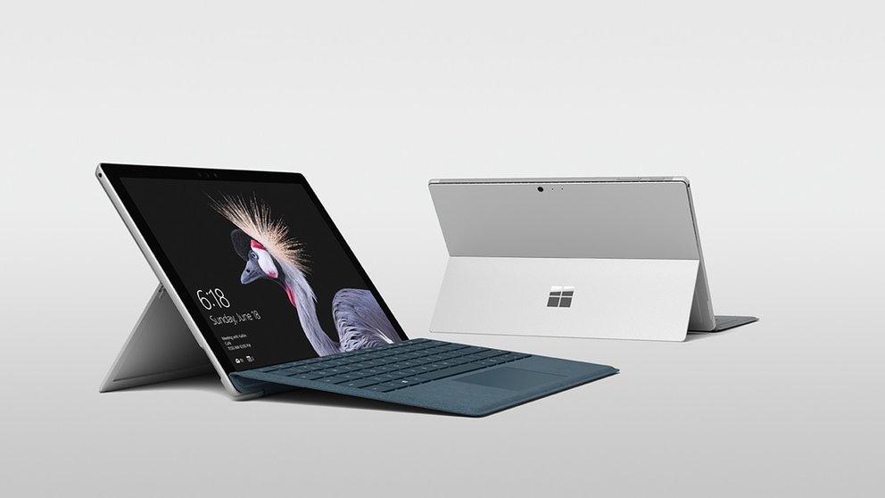 Surface Pro 4 und (2017): Neue Funktionen und Problembehebungen per Firmware-Update