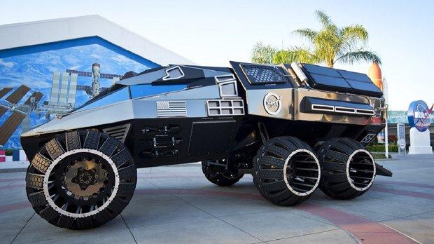 Batman auf dem Mars? Die NASA baut an einem eigenen Batmobil