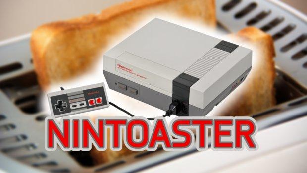 Nintoaster: Wenn ein Toaster zum NES wird