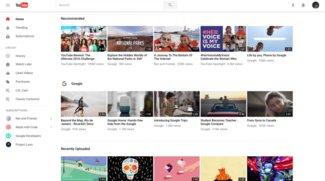 YouTube im neuen Look: Übersichtlicheres Design und Nachtmodus