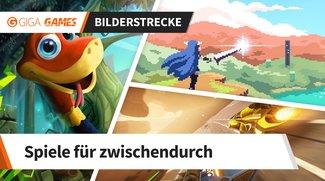 Nintendo Switch: Die 5 besten Games für zwischendurch