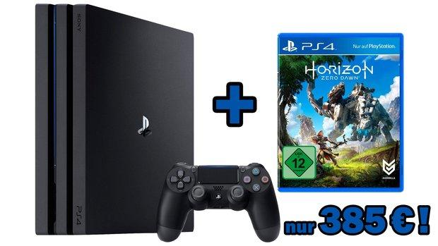 PS4 Pro 1 TB + Horizon:<b> Zero Dawn für 385 € bei Otto</b></b>