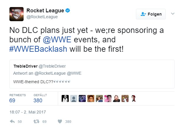 Rocket League Tweet 2