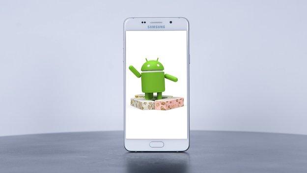 Samsung Galaxy A5 (2016): Update auf Android 7.0 Nougat hat begonnen