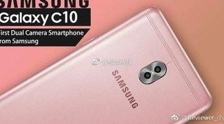 Galaxy C10: So sieht Samsungs erstes Dual-Kamera-Smartphone aus