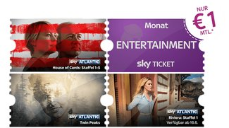 Sky Tickets ab 1 € pro Monat: House of Cards, Game of Thrones günstig gucken – monatlich kündbar