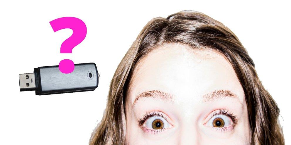 Wo kommt denn dieses Foto her? Neu gekaufte USB-Sticks können alte Daten enthalten