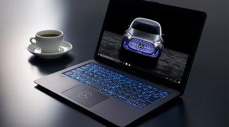Mercedes-Benz-Notebook mit fettem V8-Sound und einzigartigem Design