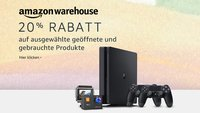Amazon: 20% Rabatt auf Warehouse Deals