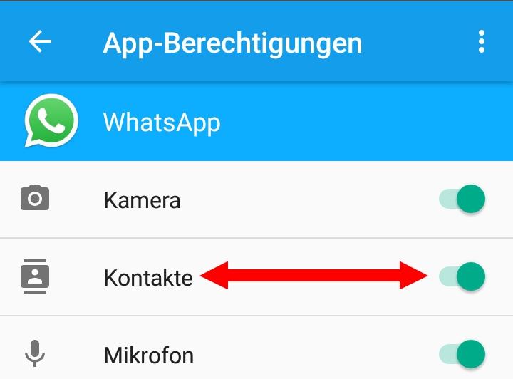 Kontakte aktualisieren android whatsapp Wie kann