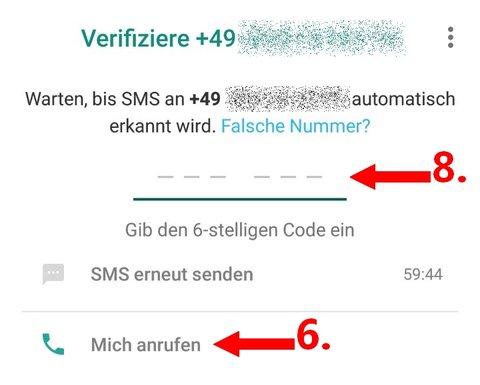 WhatsApp Festnetz 04