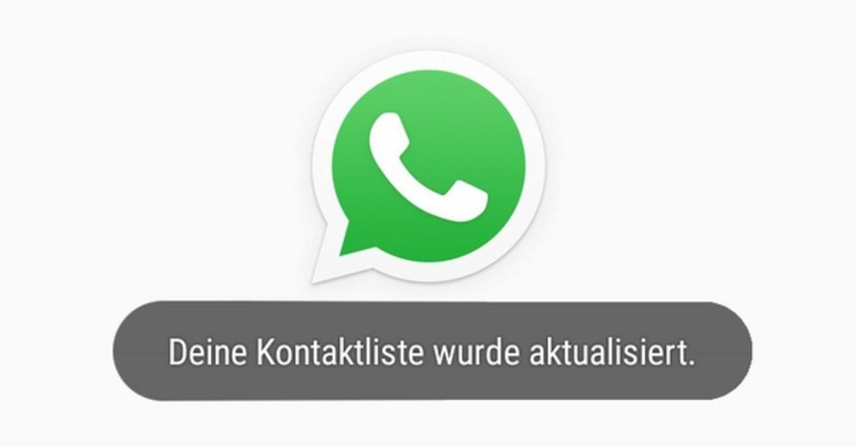 WhatsApp: Kontakte aktualisieren - so gehts
