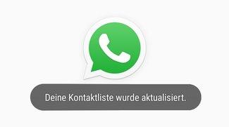 WhatsApp-Kontaktliste aktualisieren (bebilderte Anleitung)