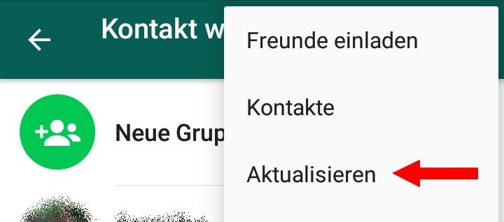 whatsapp: kontakte aktualisieren – so geht's – giga, Einladung
