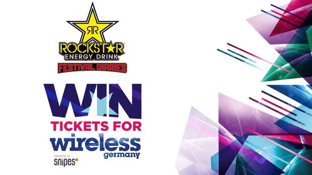 Mit Rockstar Energy Drink das Wireless Festival hautnah erleben! Wir verlosen 5 x 2 Tickets und Bags