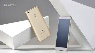 Xiaomi Mi Max 2 vorgestellt: Riesen-Phablet mit Mega-Akku zum kleinen Preis