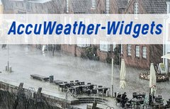 AccuWeather-Widget einrichten...