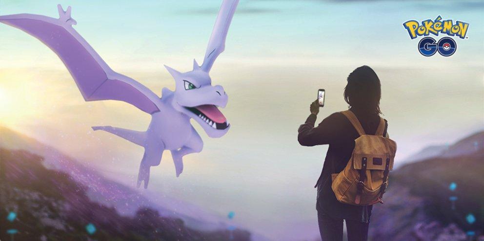Pokemon Go Abenteuer Woche Event Gestein
