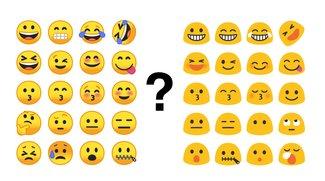 Umfrage: Gefallen euch die alten oder neuen Android-Emojis besser?