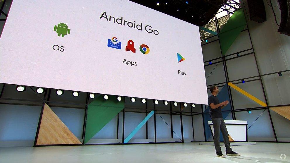 android-go-stuetzpfeiler