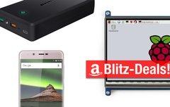 Blitzangebote: Raspberry-Pi-Screen, 30.000-mAh-Akku u.v.m. heute günstiger