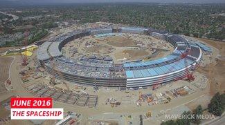 Apple Park: Die Baustelle von Mai 2016 bis Mai 2017 in 6 Minuten