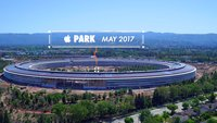 Apple Park: Drohnenvideo zeigt Fortschritte der Grünanlagen und mehr