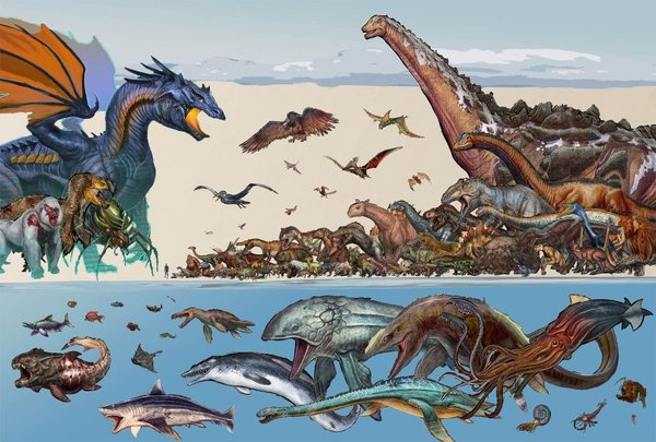 Ark Survival Evolved Alle Kreaturen Im Wasser Giga