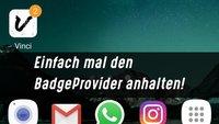 BadgeProvider: Samsung-Dienst anhalten und Zähler resetten