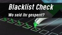Blacklist Check: Ist die E-Mail-Adresse, IP oder Domain gesperrt?