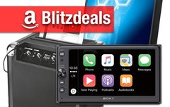 Blitzangebote: Sony CarPlay Media Receiver, gebogene Bildschirme, Party-Soundsystem zum Bestpreis