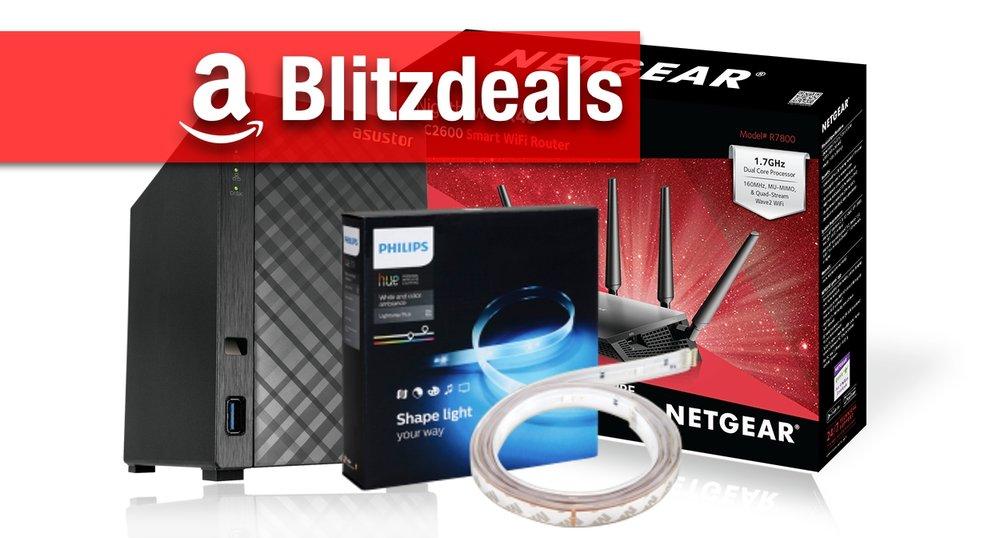 Blitzdeals & CyberSale: Philips Hue LightStrips+ für nur 65 Euro, AirPort-Alternative, NAS etc. günstiger