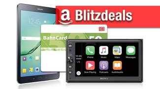 Blitzangebote: BahnCard mit Rabatt, Galaxy Tab S2, Sony CarPlay-System günstiger