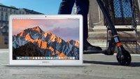 Blitzdeals & CyberSale: MacBook Air über 200 Euro unter Apple-Preis, Elektro-Scooter, Sony-Kopfhörer