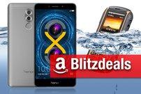 Blitzdeals & CyberSale: Honor 6X Premium zum Bestpreis, CUBOT Rainbow 2, IP68-Outdoor-Handy günstiger