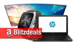 Blitzdeals & CyberSale: HP-Notebook für 222 Euro, Curved-Monitor, Asus Zenwatch 2, Ambilight-TV billiger