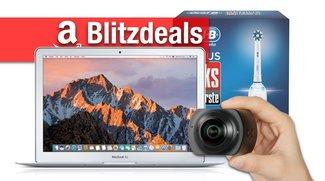 Blitzdeals & CyberSale: MacBook Air 200 Euro unter Apple-Preis, App-Zahnbürste, 360-Grad-Kamera billiger