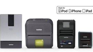 """Für iPhone und iPad: Brother stellt Drucker mit """"Made for i""""-Zertifizierung vor"""