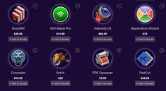 Software-Bundle für Mac: Roxio Toast Express, Tonality, YouTube-Konverter und mehr