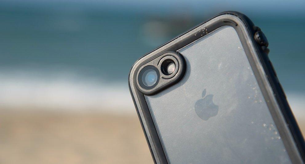 Eine gute Linse schützt die iPhone-Kamera.