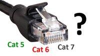 Unterschied von Cat 5, Cat 6 und Cat 7 – Der Netzwerkkabel-Typ