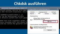 Chkdsk in Windows 10 ausführen – so geht's