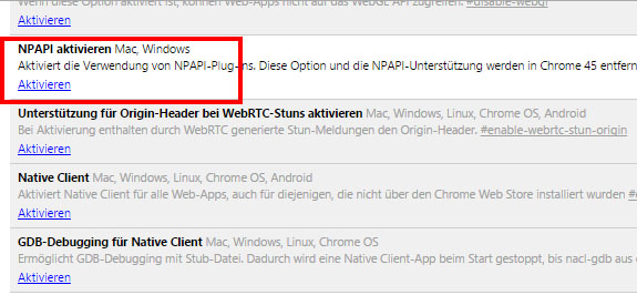CHROME TÉLÉCHARGER NPAPI